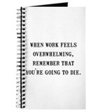 Work Overwhelming Journal