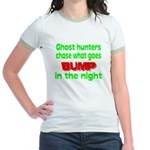 Ghost Hunters Bump in Night Jr. Ringer T-Shirt