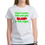 Ghost Hunters Bump in Night Women's T-Shirt