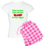 Ghost Hunters Bump in Night Women's Light Pajamas