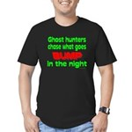 Ghost Hunters Bump in Night Men's Fitted T-Shirt (