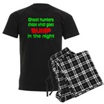 Ghost Hunters Bump in Night Men's Dark Pajamas