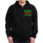 Ghost Hunters Bump in Night Zip Hoodie (dark)