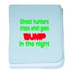 Ghost Hunters Bump in Night baby blanket