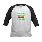 Ghost Hunters Bump in Night Kids Baseball Jersey