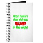Ghost Hunters Bump in Night Journal