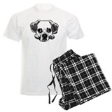 Black & White Puggle pajamas
