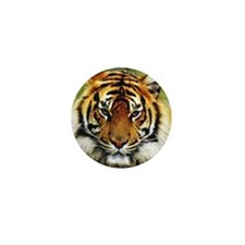 Tiger Photo Mini Button (10 pack)