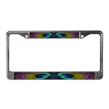 Celtic Strength Peacock Feather Plate Frame