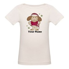Personalized Christmas Puppy Tee