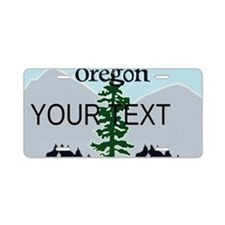 Oregon Customizable Plate