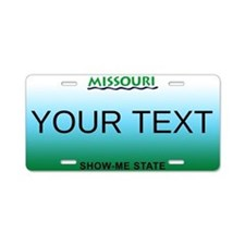 Missouri Customizable Plate