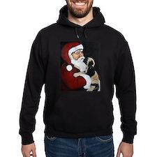 Mastiff Puppy with Santa Hoodie