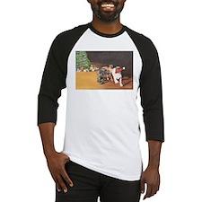 Mastiff Puppy Christmas Baseball Jersey