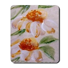 """Cone Flower Row"" Mousepad"