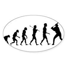 Baseball Evolution Decal