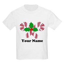 Personalized Candy Canes T-Shirt