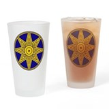 Ishtar Star Icon Drinking Glass