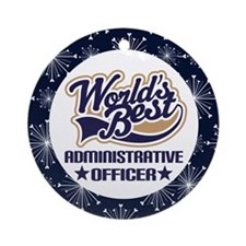 Administrative Officer Ornament Gift