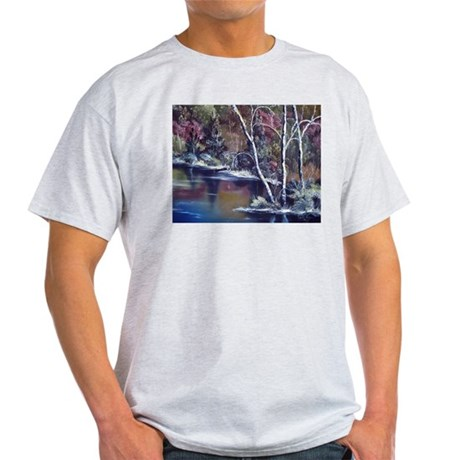 Aspen Reflections Ash Grey T-Shirt