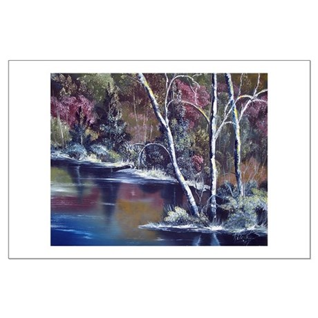 Aspen Reflections Large Poster