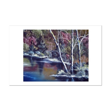 Aspen Reflections Mini Poster Print