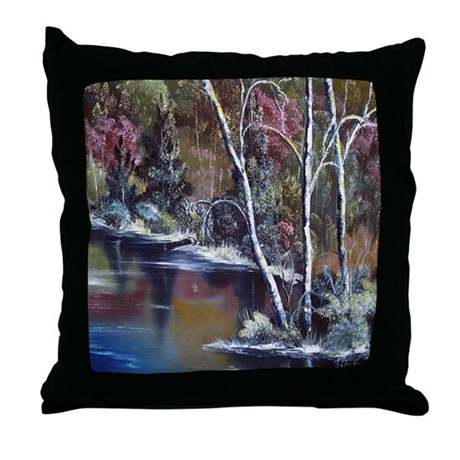 Aspen Reflections Throw Pillow