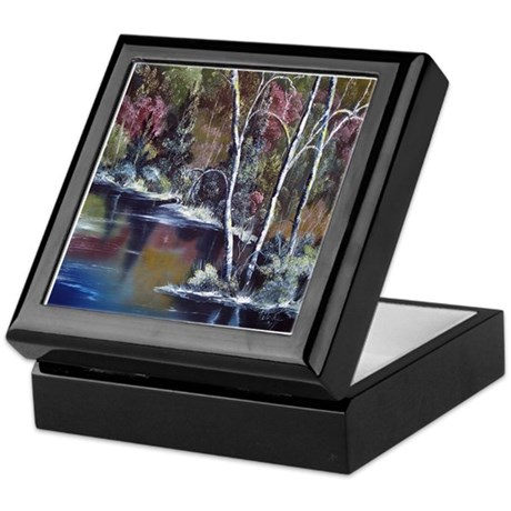 Aspen Reflections Keepsake Box