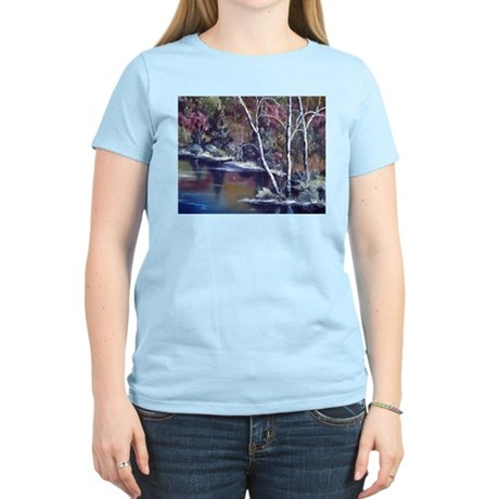 Aspen Reflections Women's Pink T-Shirt