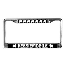 Keesiemobile License Plate Frame