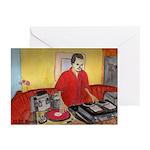 El DJ Booth Greeting Cards (Pk of 10)