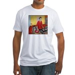 El DJ Booth Fitted T-Shirt