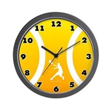 Tennis Wall Clock Sun