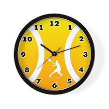 Tennis Wall Clock Sun