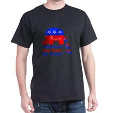 Run From Family Black T-Shirt