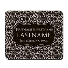 Wedding Favors with a Pattern Mousepad
