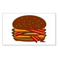 Bacon Triple Cheese! Decal