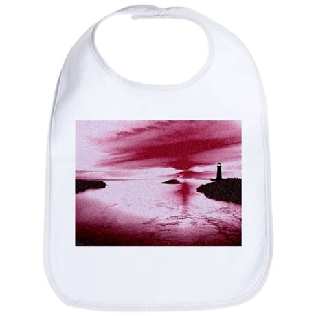Lighthouse Sunset Bib