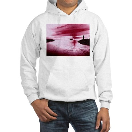 Lighthouse Sunset Hooded Sweatshirt