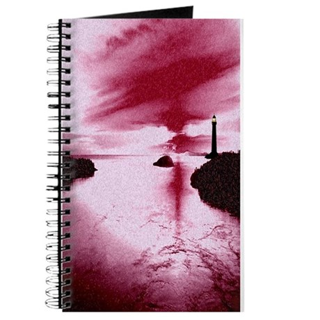 Lighthouse Sunset Journal