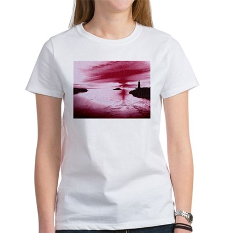 Lighthouse Sunset Women's T-Shirt