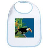 Toucan Jungle Bib