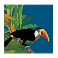 Toucan Jungle Tile Coaster