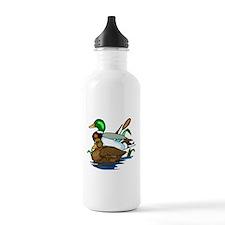 Mallard Ducks Water Bottle
