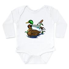 Mallard Ducks Long Sleeve Infant Bodysuit