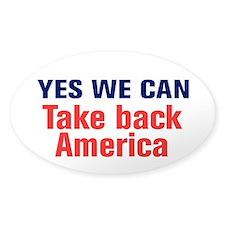 Take Back America Decal