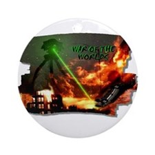 war of the worlds Ornament (Round)