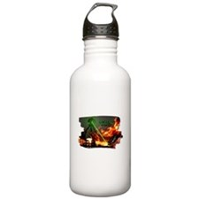 war of the worlds Water Bottle