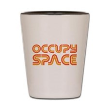Occupy Space Shot Glass