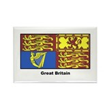 Great Britain Royal Banner Rectangle Magnet